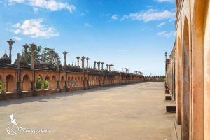 Terrace of bara Imambara - things to do in Lucknow
