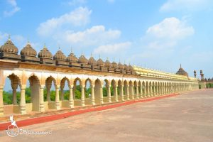 Terrace of Bara Imambara in Lucknow