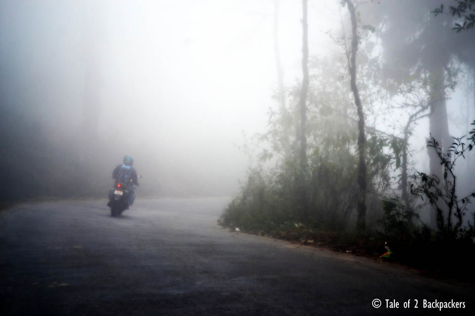 Misty Roads at Lepchajagat