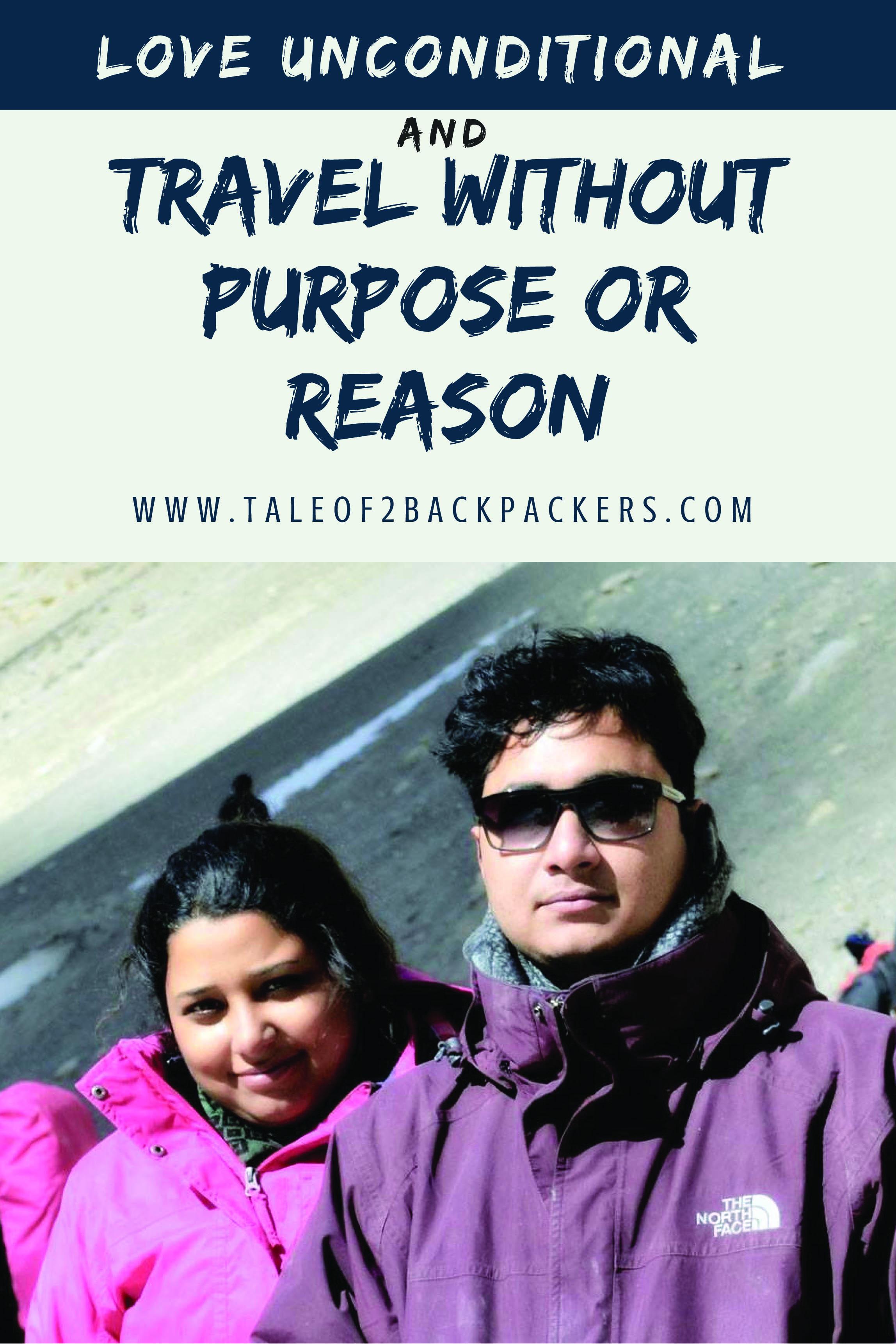 Travel blogger couple