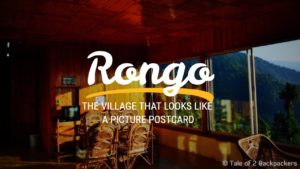 Rongo weekend destination from Kolkata