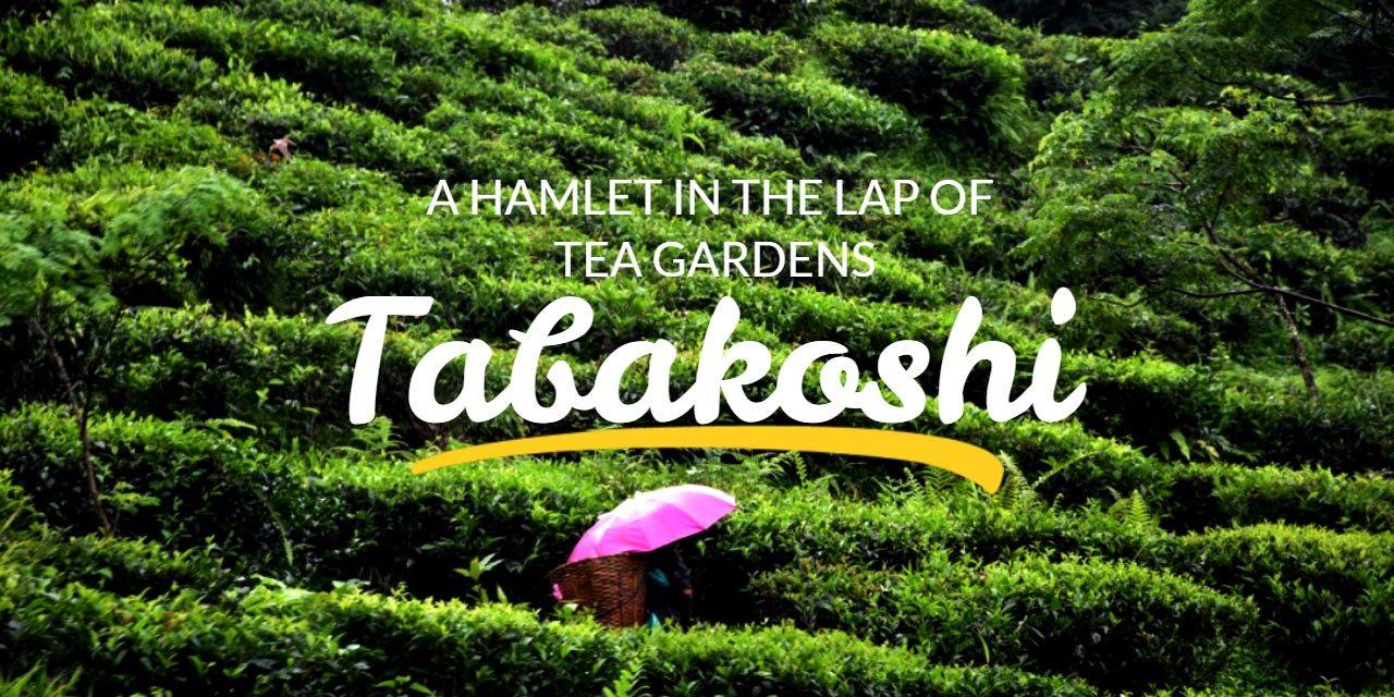 Tabakoshi – a hamlet in the lap of tea gardens