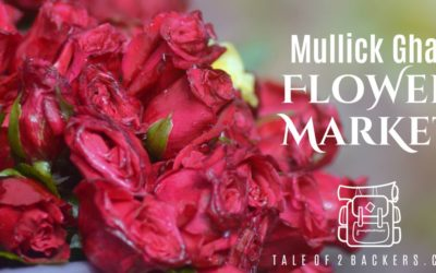 Chaotic canvas of Mullick Ghat Flower Market of Kolkata