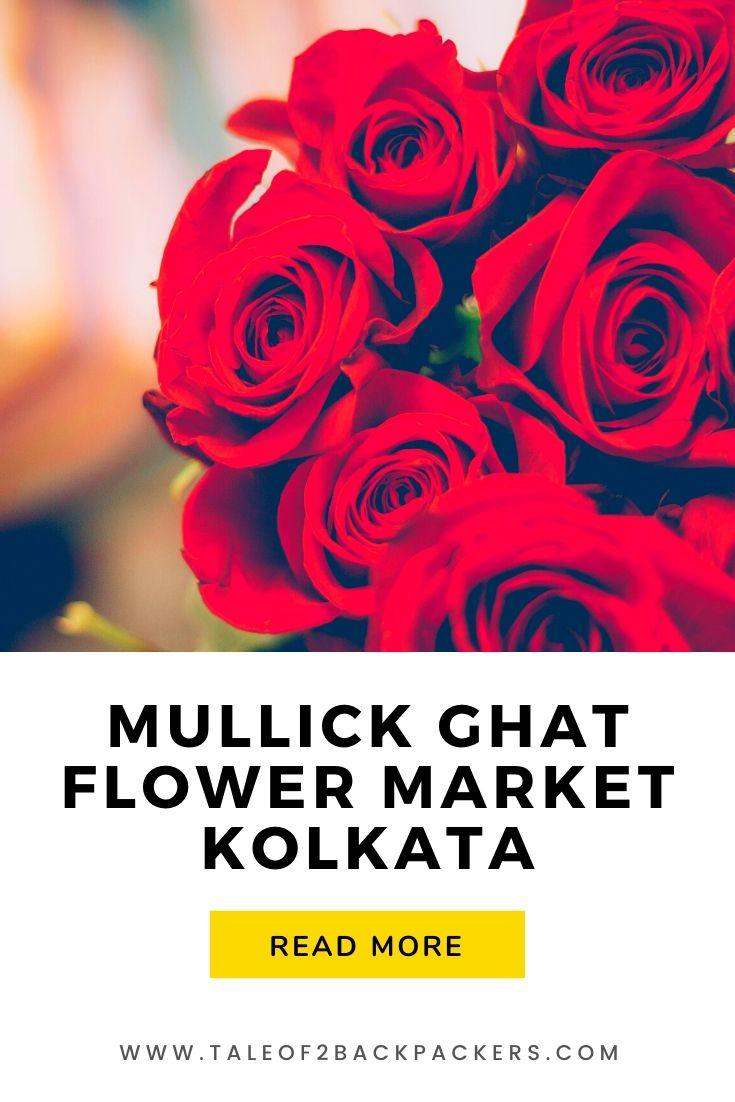 Mullick Ghat Flower Market Kolkata