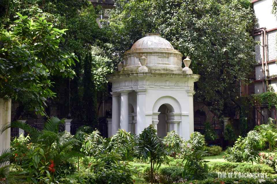 Begum Johnsons grave St. Johns Church Kolkata