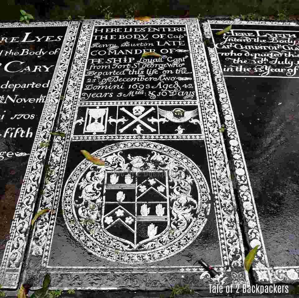 Burial ground at St Johns Church Kolkata