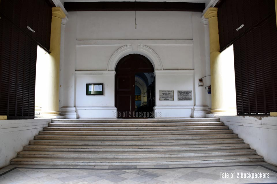Entrance of St John's Church Kolkata