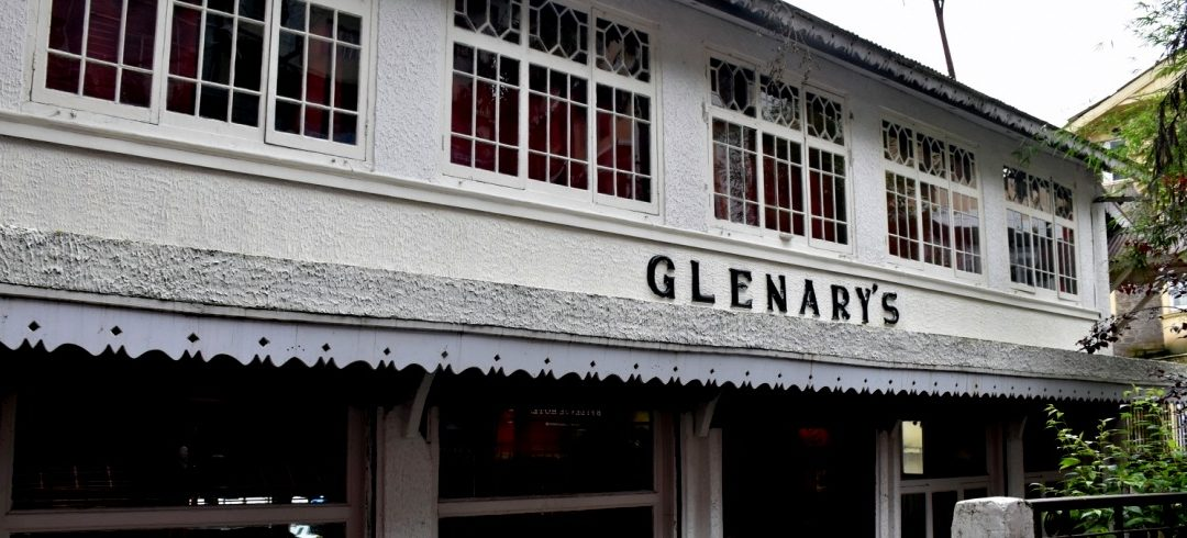 Breakfast at Glenary's Bakery, Darjeeling
