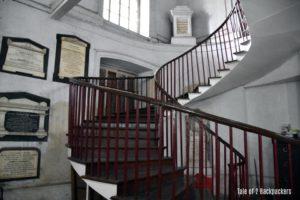 Interior of St Johns Church Kolkata
