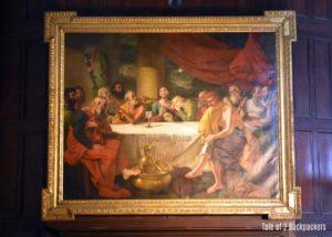 Zoffany's Painting of Last Supper at St John's Church Kolkata