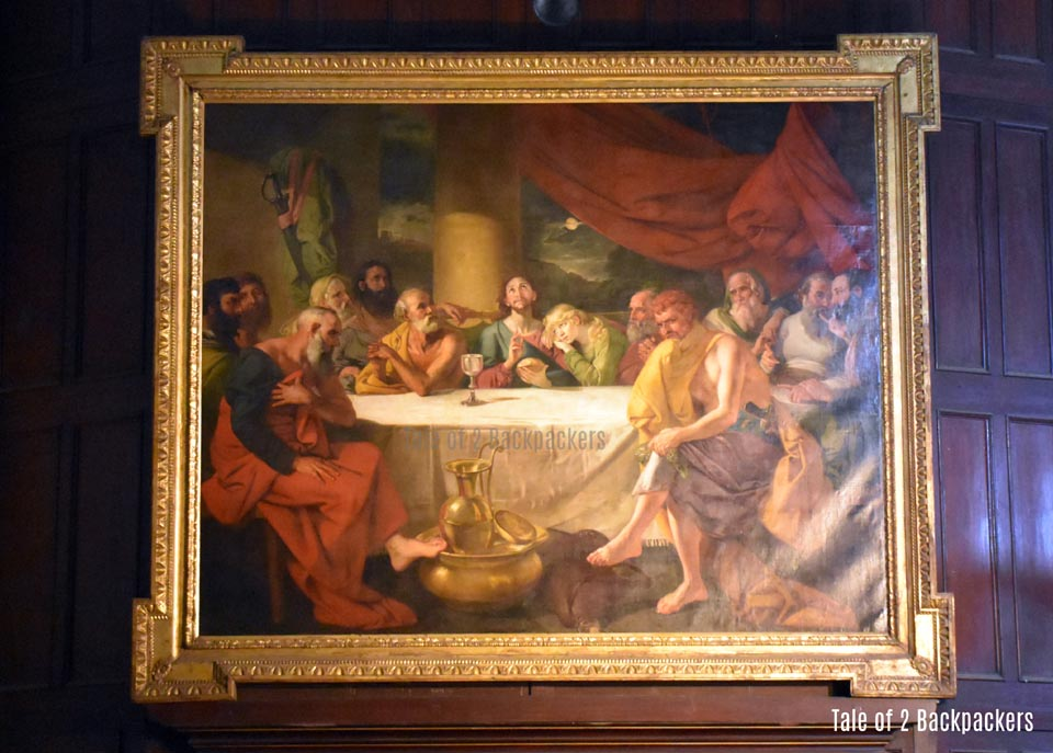 Zoffany's Painting of Last Supper at St John's Church Kolkata