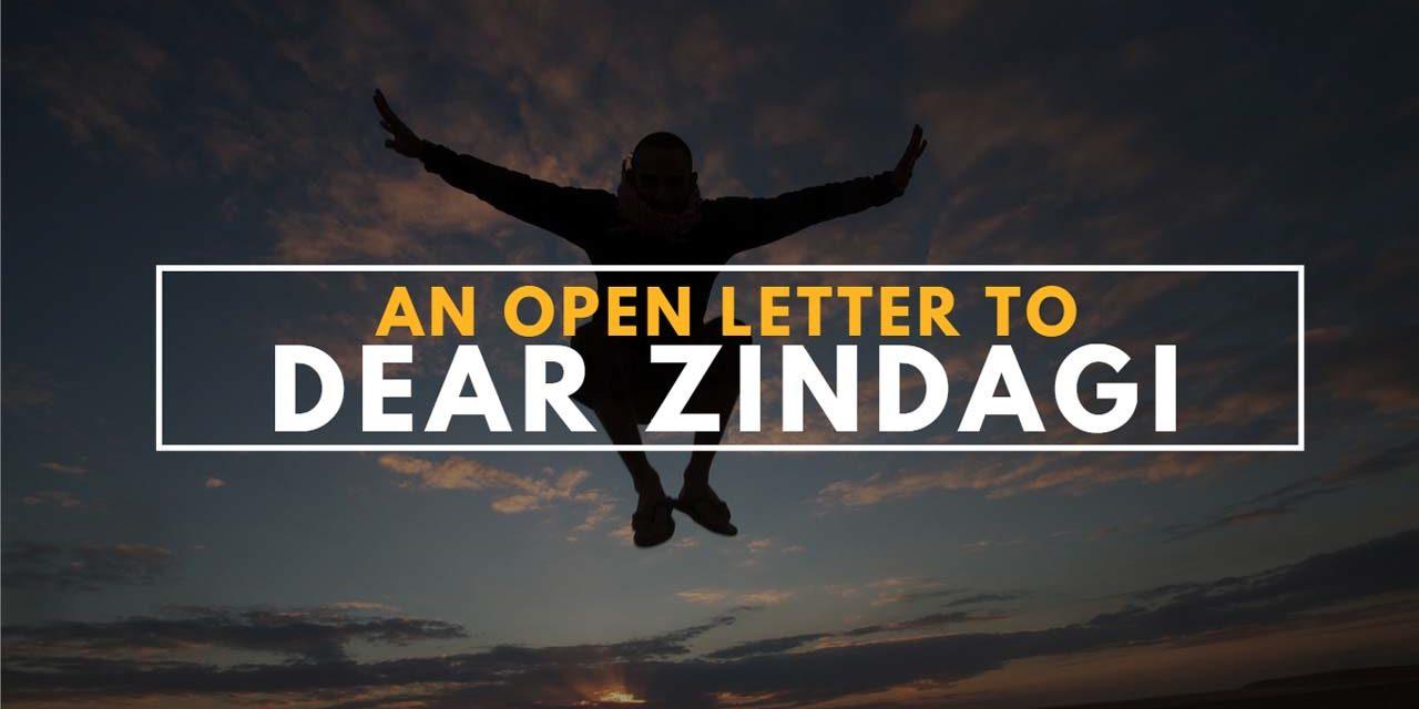 An open letter to Dear Zindagi