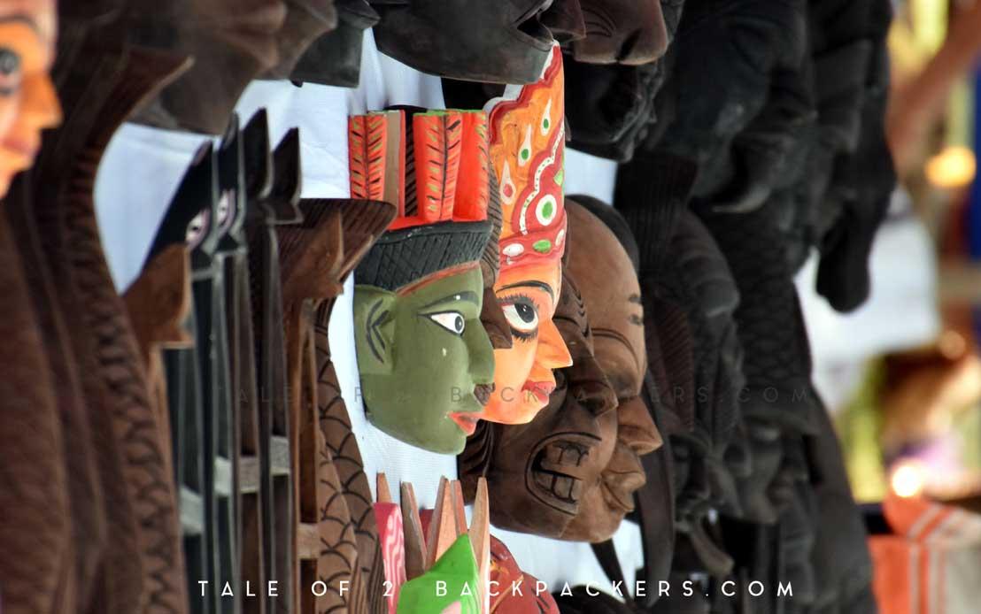 Kushmandi Masks