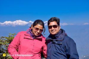 Agni and Amrita in Darjeeling