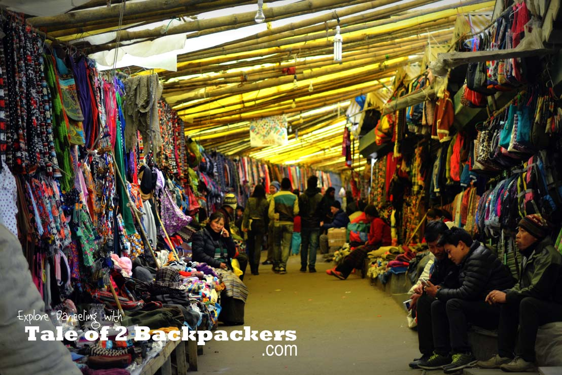 Places to shop at Darjeeling