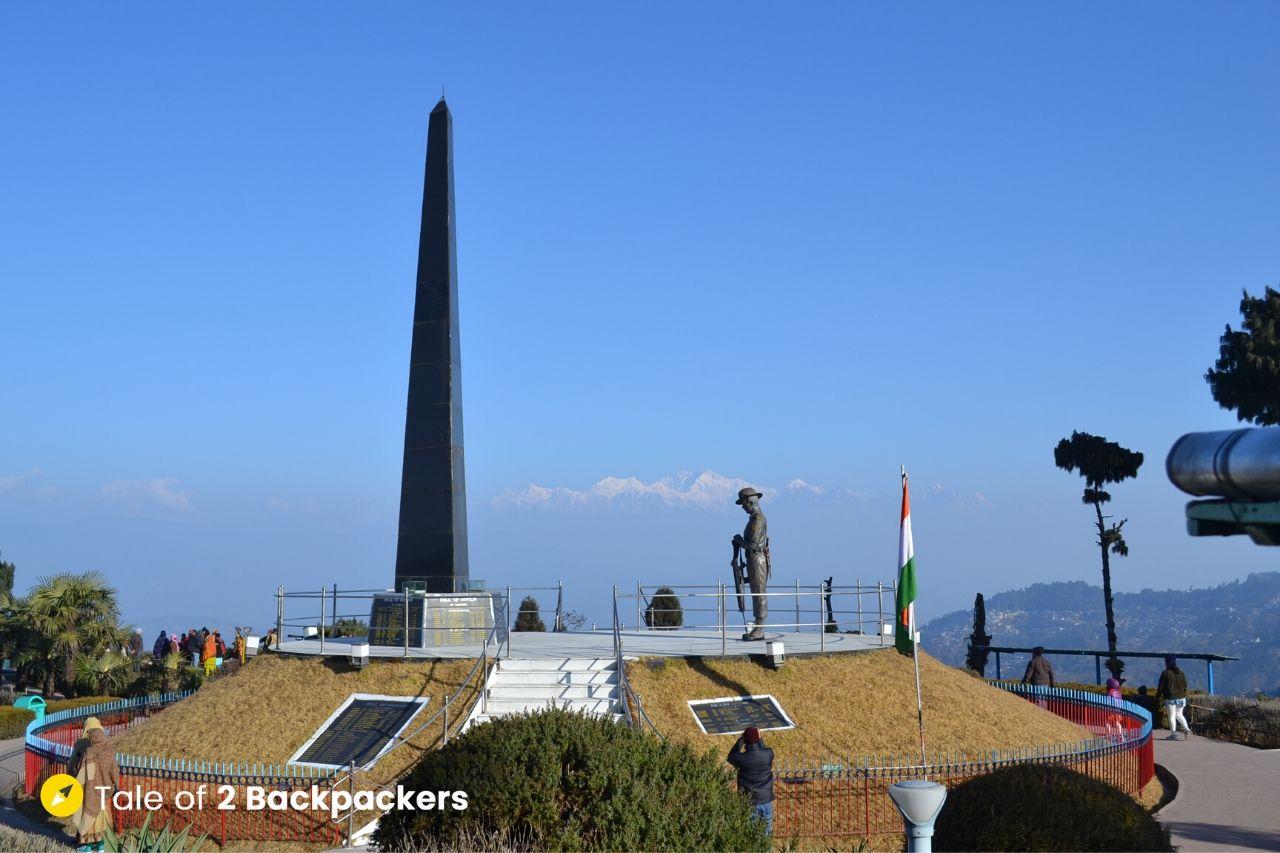 Gorkha War Memorial at Batasia Loop