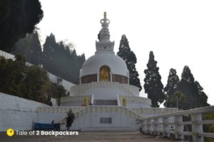 Japanese Temple and Peace Pagoda Darjeeling - Places to visit in Darjeeling