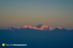 Sunrise from Tiger Hill Darjeeling