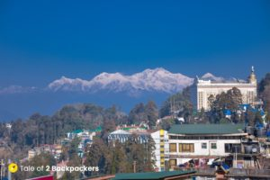 View of Kanchenjunga range from Darjeeling -