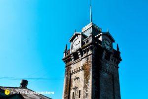 Darjeeling Clock Tower taken from Keventers