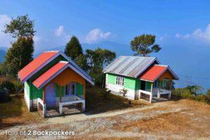 Huts at Ahaldara