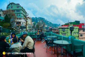 Breakfast at Keventers Darjeeling