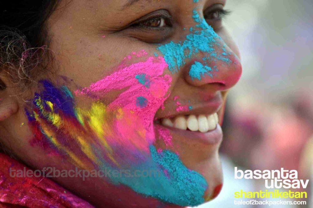 Basanta Utsav at Shantiniketan, Holi in India