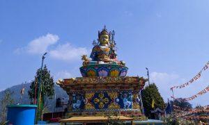 Padmasambhava Statue at Kalimpong