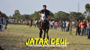 Horse race at Jatar Deul