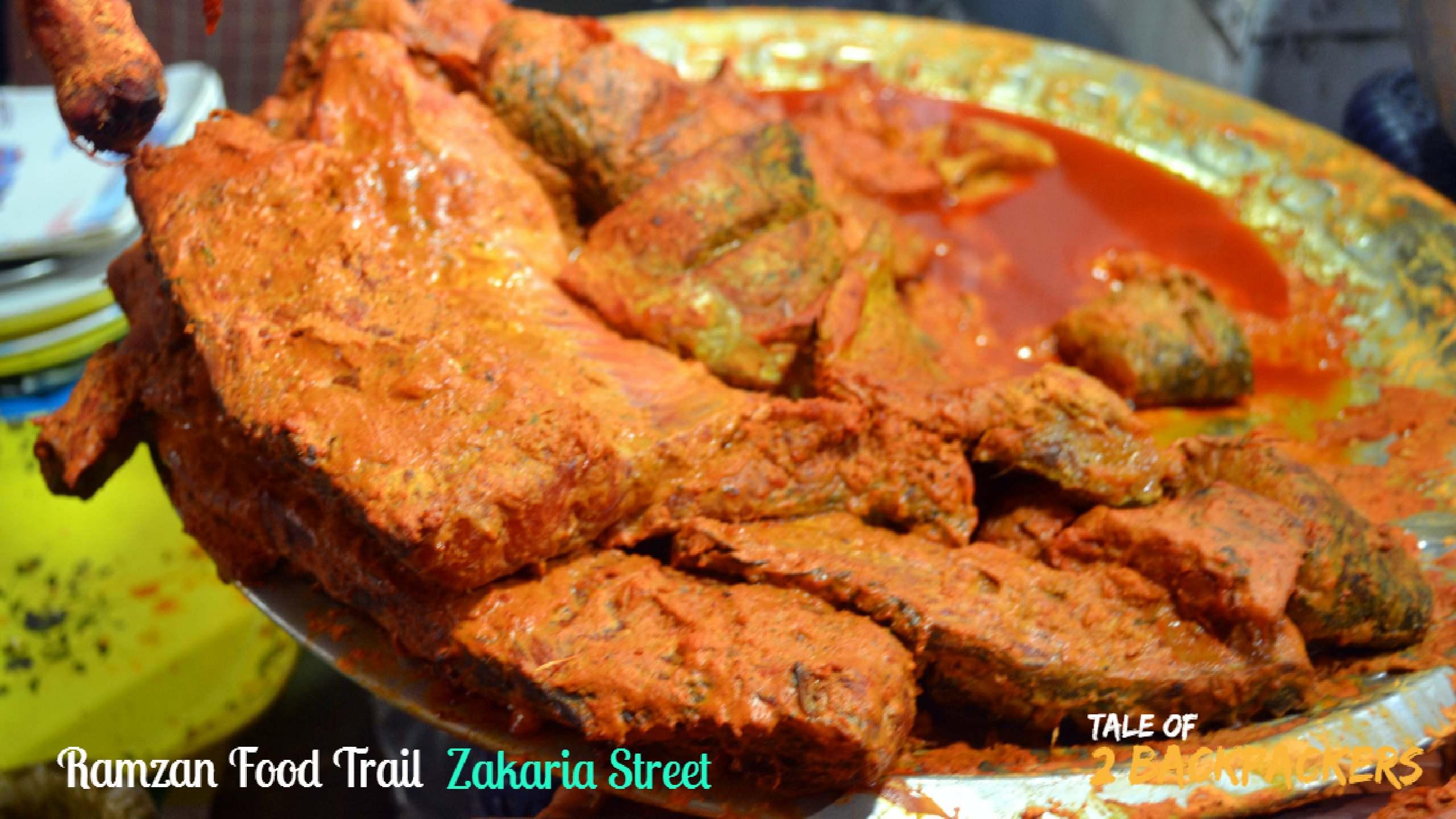 Ramzan Food Trail Zakaria Street Kolkata