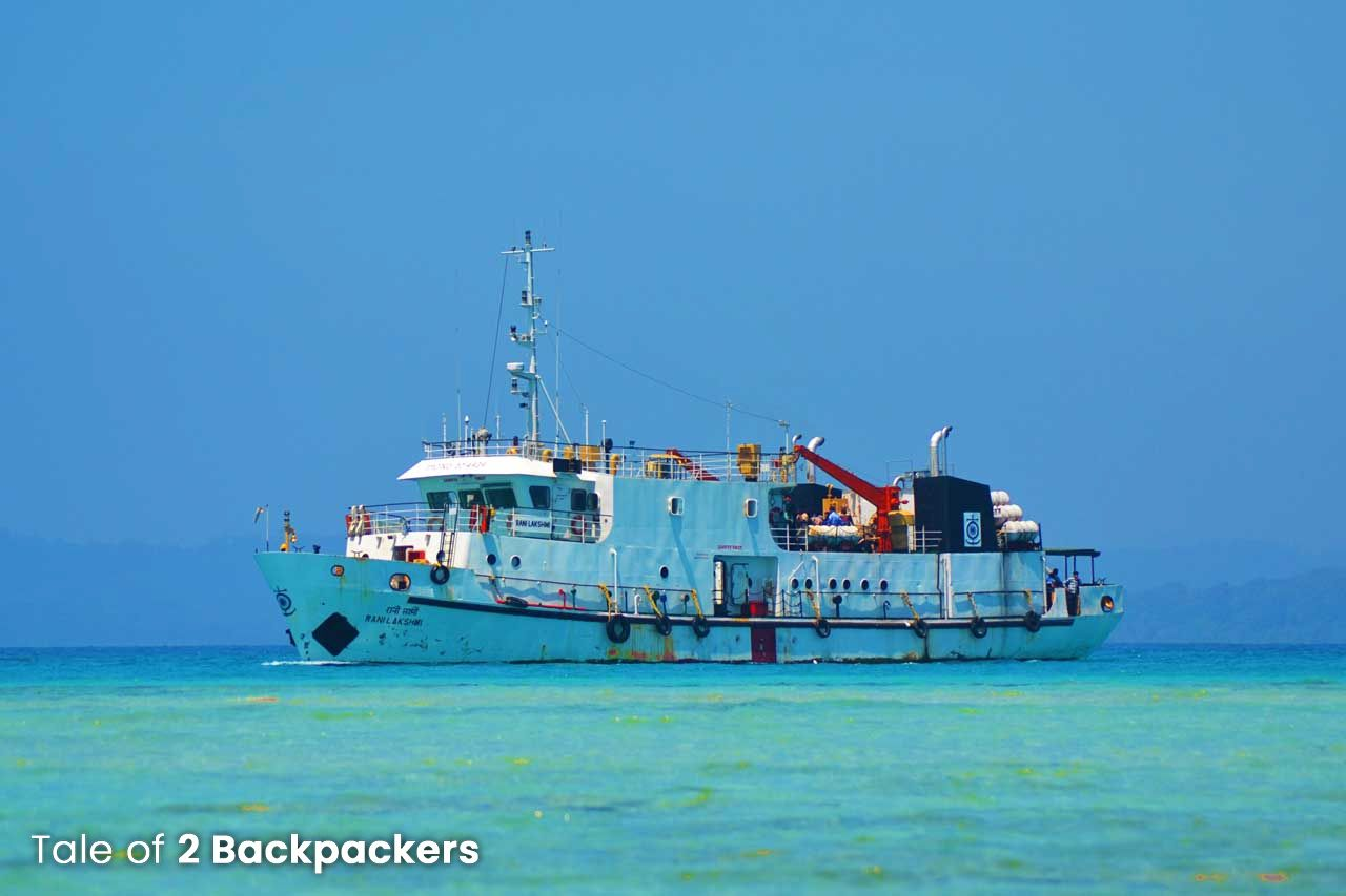 Government Ferry at Andaman