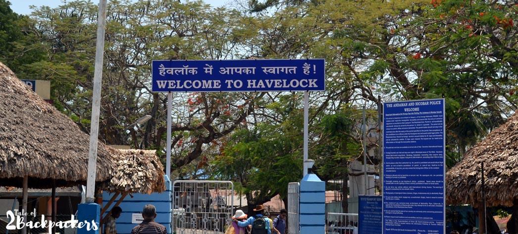 Havelock Island Jetty - Andaman