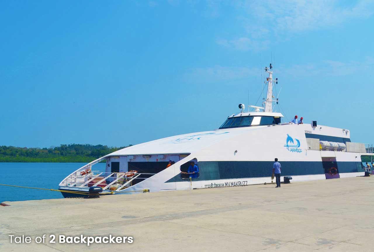 Makruzz cruise_How to reach Havelock Island