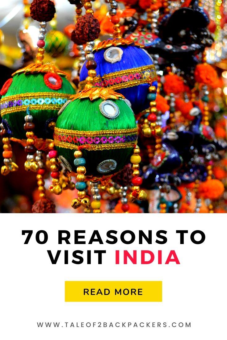 Reasons to Visit India
