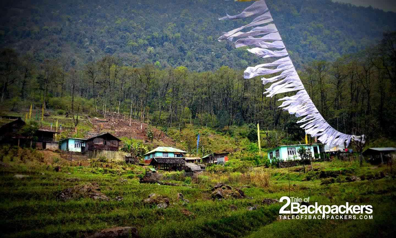 Village in Upper Dzongu