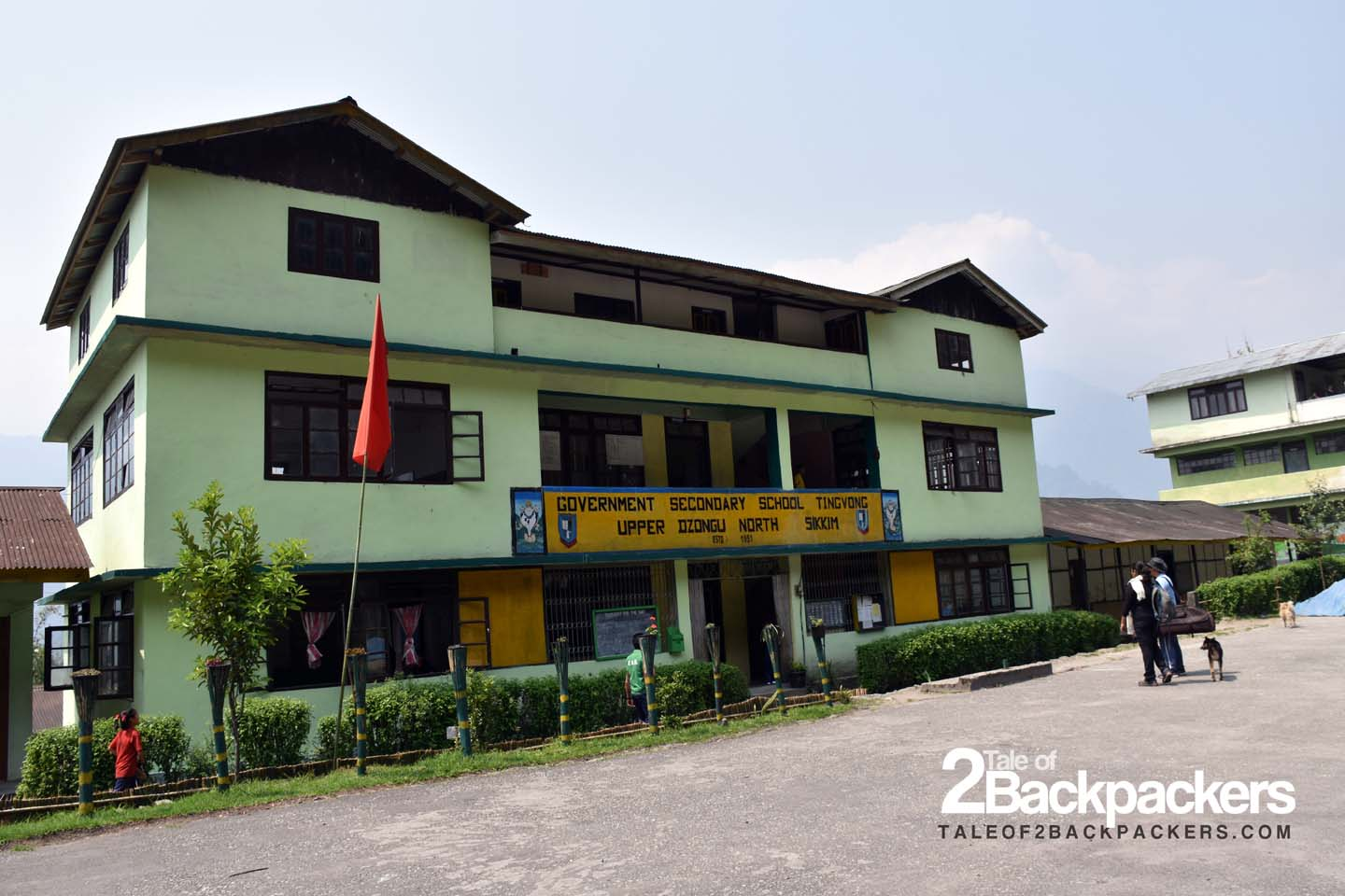 The only school at Upper Dzongu in Tingvong village