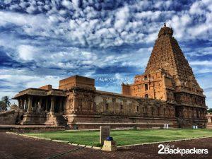 Brihadeshwara Temple North side