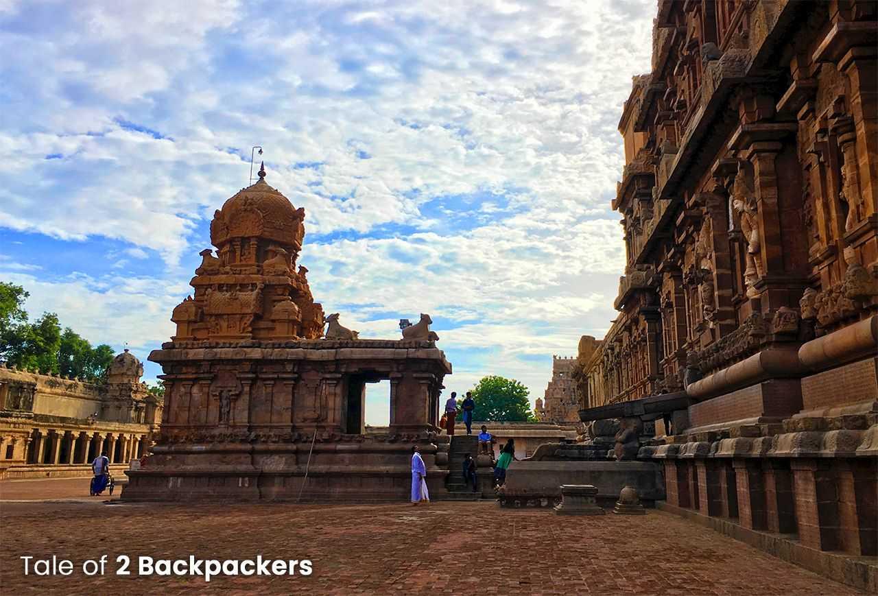 Chandikesvara Shrine at Thanjavur Big Temple