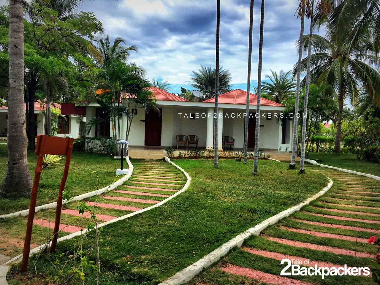Chariot Beach Resort, Mahabalipuram | Tale of 2 Backpackers