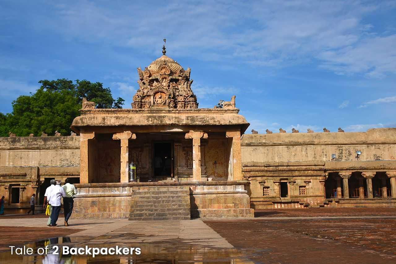 Ganesha Shrine at Brihadeeswarar Temple Thanjavur