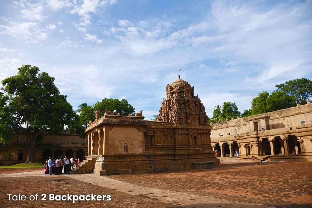 Ganesha Shrine at Brihadeeswarar Temple at Thanjavur