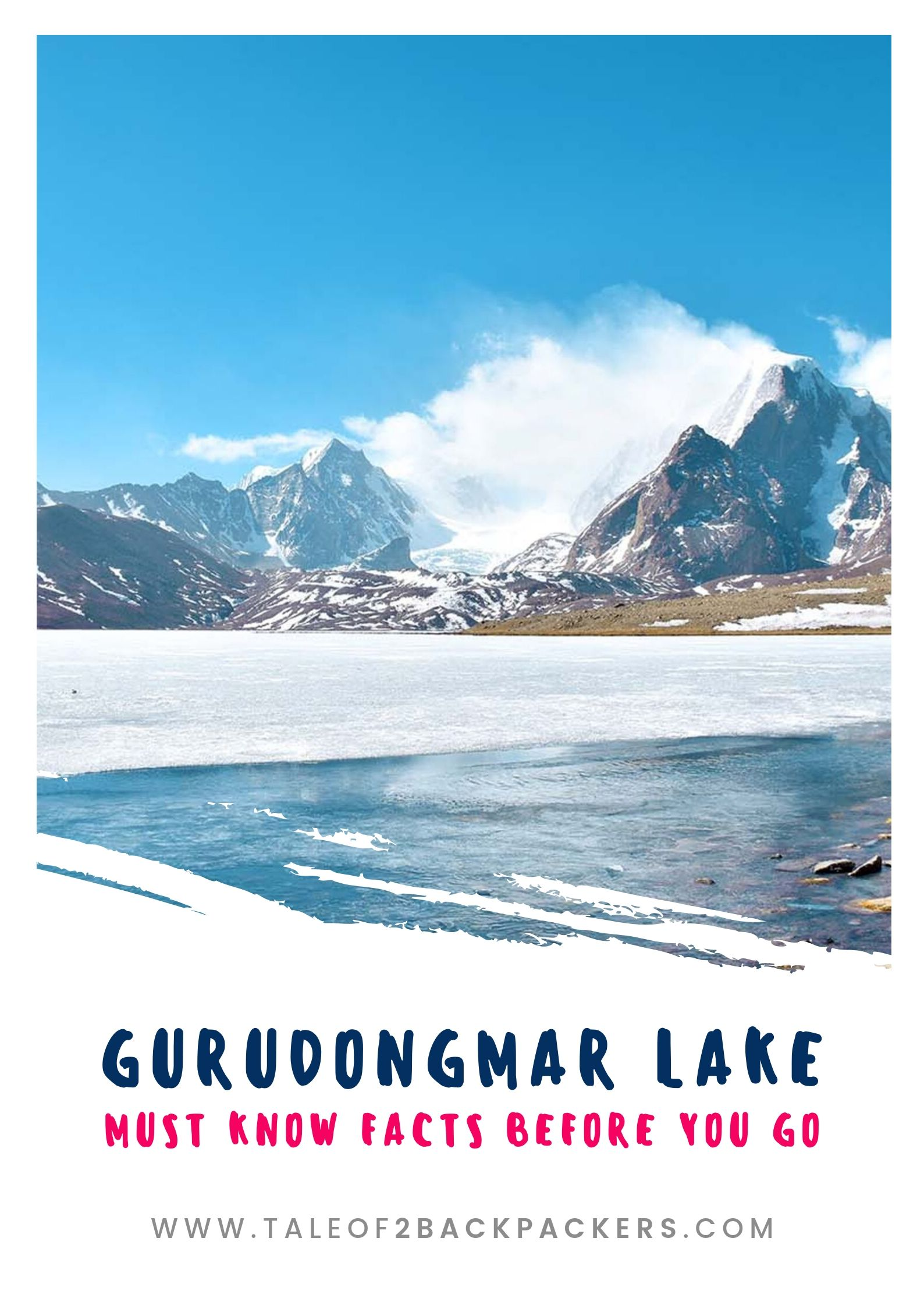 Gurudongmar Lake Guide - pinterest