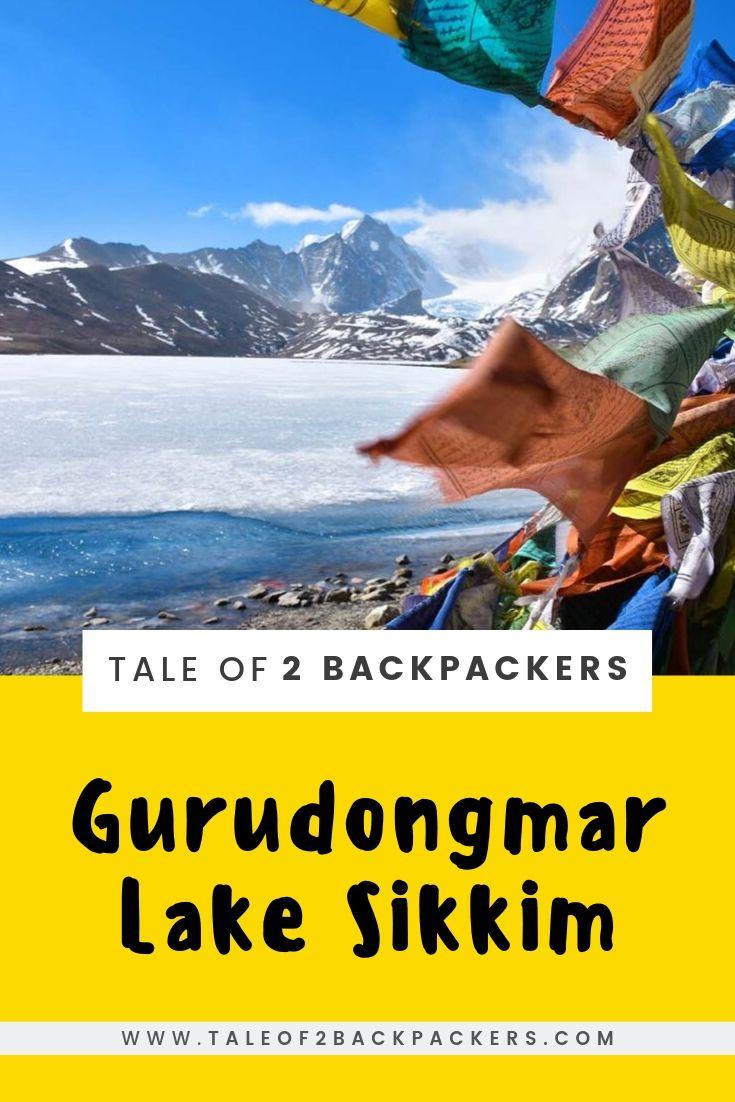 Gurudongmar Lake North Sikkim Itinerary - pinterest