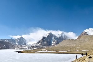 Frozen Gurudongmar Lake, North Sikkim itinerary