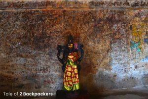 Idol at Bhrihadeshwara Temple at Thanjavur
