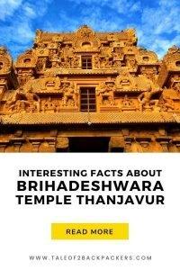 Interesting myths and facts about Brihadeisvara Temple at Thanjavur
