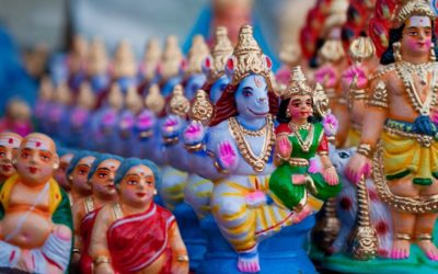 Navratri Golu – a different form of Puja