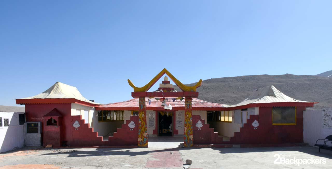 Temple at Gurudongmar Lake North Sikkim