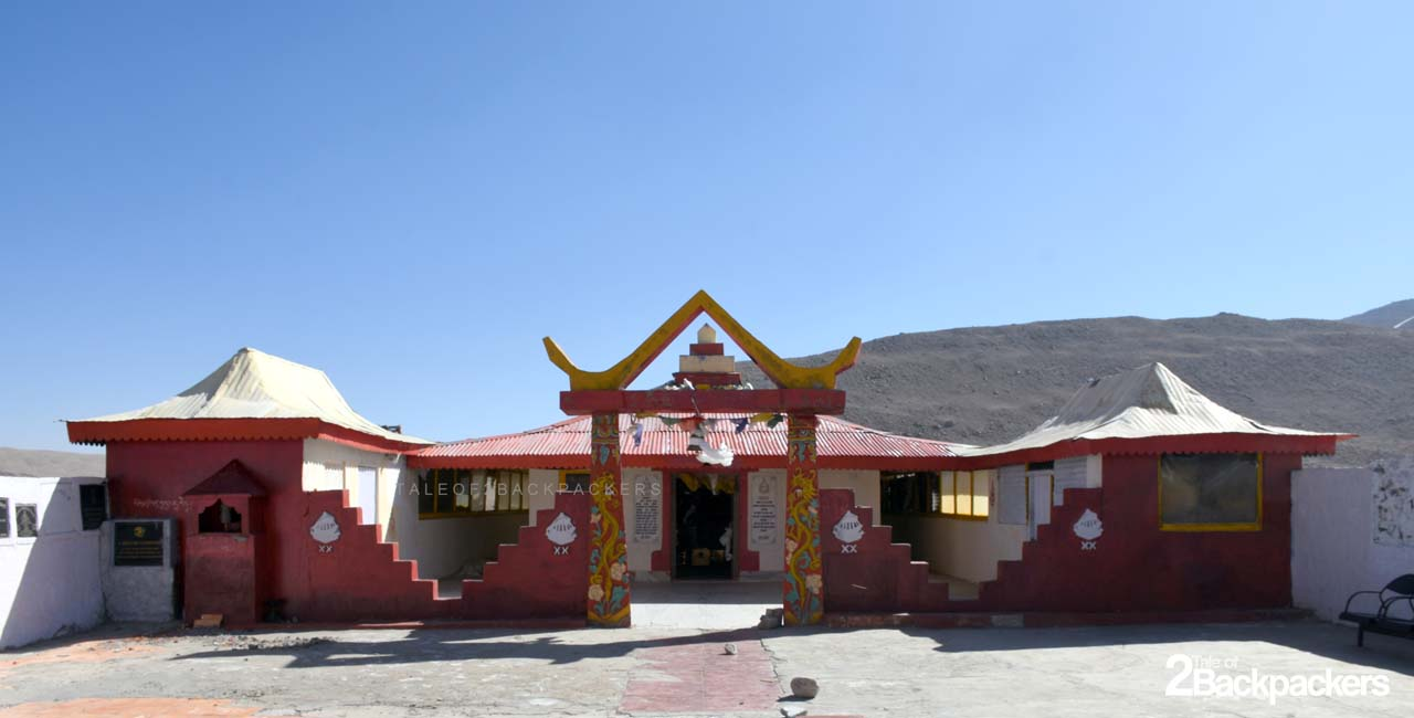 Temple at Gurudongmar Lake North Sikkim