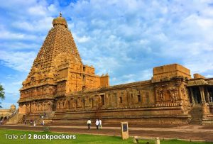 Thanjavur Brihadeeswarar Temple South Side